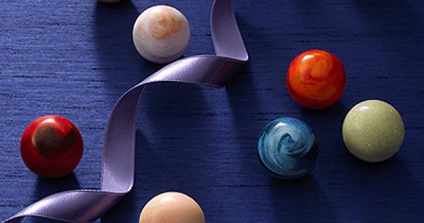 『惑星ショコラ』惑星のような宝石のような♪見た目ときめく【ボンボンショコラ】レシピを紹介♡