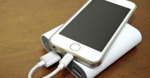 モバイルバッテリーの使い方充電手法を正しく知ってiPhone電池が長生き