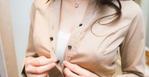 巨乳向けファッションブランド(オーバーE)の女性社員がすごい