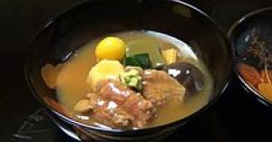 石川県の人気郷土料理の治部煮(じぶに)