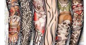 誰でも簡単に描ける!?オシャレな自作タトゥータイツのデザイン画まとめ【24選】