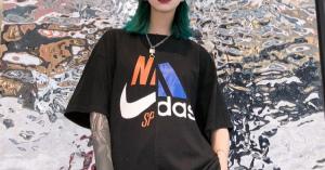 最新ファッションブランドナイキ NIKE Tシャツ ペアルック新作 人気アイテム