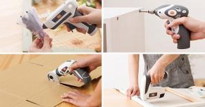 【便利グッズ】暮らしの作業をラクにする電動工具シリーズ