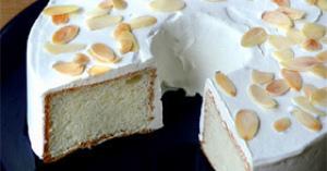真っ白deふわふわ♡天使のケーキ【エンゼルフードケーキ】レシピ♪