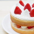 誕生日やお祝い事にぴったり♪子供も喜ぶ【イチゴのショートケーキ】レシピ♡