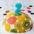 ケーキ作り初心者にも☆ホームパーティや誕生日などにおすすめ【ドームケーキ】の作り方♡