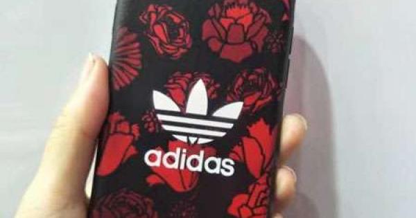 アディダス オリジナルス adidas originals iphone6sスマホケース アイフォン6sプラスソフトケース チェーン付き シリコン製