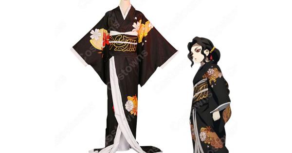 鬼舞辻無惨 コスプレ衣装 【鬼滅の刃】 cosplay 和服