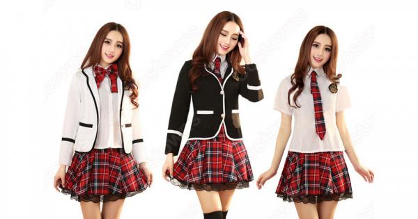 学園制服 コスプレ衣装 文化祭 体育祭 ユニフォーム コスチューム 欧米風制服