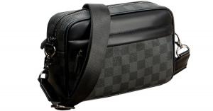 人気 メンズ ショルダー バッグ 販売 本革 男性 用 ショルダー バッグ メッセンジャー バッグ おすすめのミニ 斜 めがけ バッグ 通学 通勤鞄 小振り 軽量 実用 高 機能 肩掛け カバン