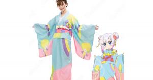 カンナカムイ コスプレ衣装 【小林さんちのメイドラゴン】 新年 着物