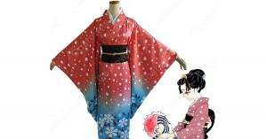 恋雪 コスプレ衣装 【鬼滅の刃】 cosplay 和服