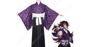 黒死牟 コスプレ衣装 【鬼滅の刃】 cosplay 上弦の壱 戦闘服