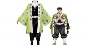 悲鳴嶼行冥 コスプレ衣装 【鬼滅の刃】 cosplay 岩柱 隊服