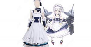 ベルちゃん コスプレ衣装 【アズールレーン】 cosplay ロイヤル 軽巡洋艦 メイド衣装 オーダメイド可
