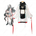 シュヴァルツ コスプレ衣装 【アークナイツ】 cosplay 黒 Schwarz 戦闘服