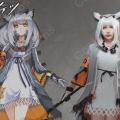 フィリオプシス コスプレ衣装 【アークナイツ】 cosplay 白面鸮 Ptilopsis 戦闘服