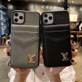 Louis Vuitton ルイヴィトン iphone12ケース カード収納 皮革製