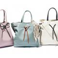 夏だからこそ、軽いキレイ色バッグが必要です!