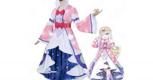 スヤリス姫 コスプレ衣装 『魔王城でおやすみ』 オーロラ・栖夜・リース・カイミーン cosplay 仮装 変装