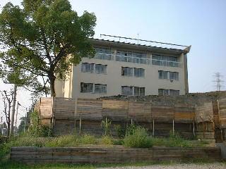 建っていた頃の病院