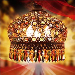 ボヘミアンスタイル照明 手作り 3灯