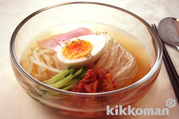 冷麺(キッコーマン割烹香り白だし使用)のレシピ・つくり方