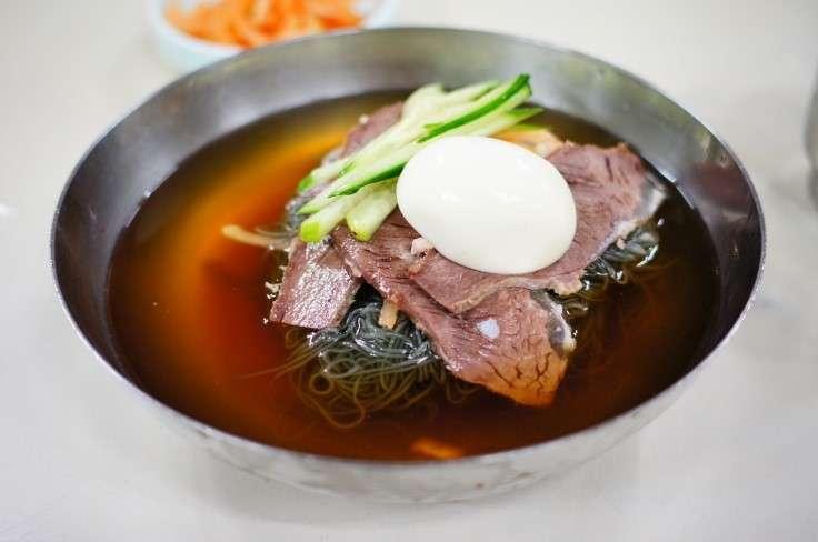 「平壌冷麺=물냉면 ムルレンミョン(水冷麺)」夏に美味しい韓国料理「冷麺」