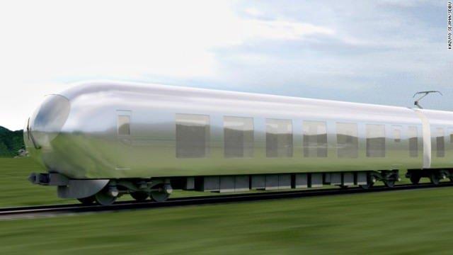 「風景に溶け込む」特急列車、2018年度に走行開始