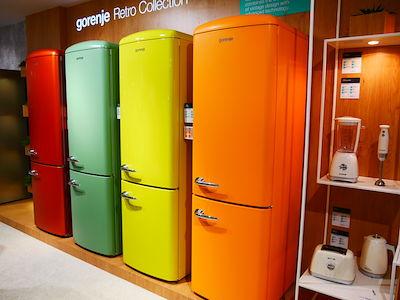 gorenjeのレトロでかわいい冷蔵庫