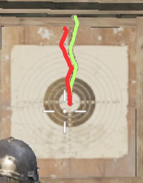 赤:バーティカル 緑:アングル