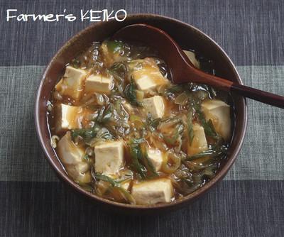 豆腐と長ねぎの煮込み