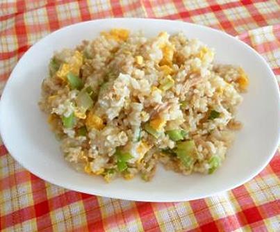 ツナマヨ炒飯