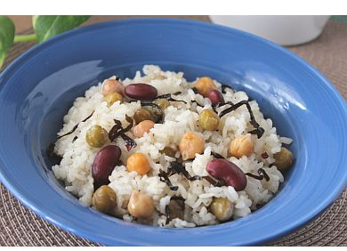 栄養豆チャーハン