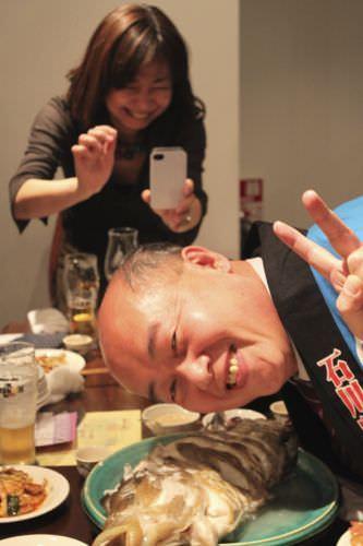 日本発酵文化協会 発酵中華忘年会 麻布十番 ナポレオンフィッシュ
