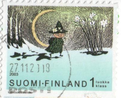 スナフキンの切手2003