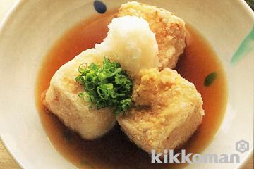 「揚げ出し豆腐」検索第1位!キッコーマンの揚げ出し豆腐レシピ