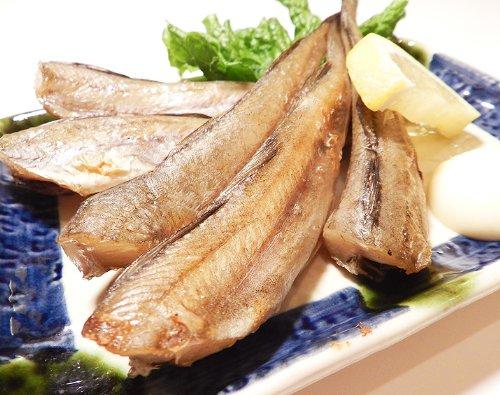 一夜干し氷下魚コマイ 1kg 北海道釧路¥ 2,300 5-7尾