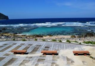 【口之島平瀬海水浴場】地元の子にはプールと呼ばれている海水浴場。
