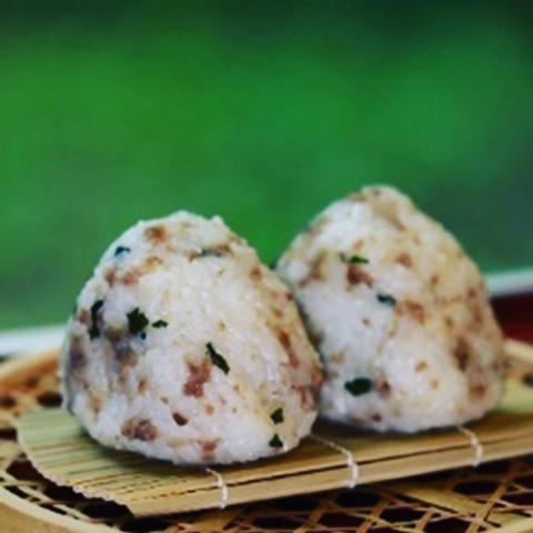 石川県オリジナルの新品種米「ひゃくまん穀」我が家のおにぎりコンテストH29最優秀金賞豚わさびおににぎり