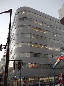 事件があった名古屋大曽根第一生命ビル(2014年1月)