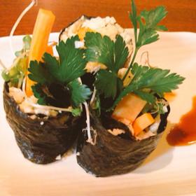 【ベジ】カリフラワーライスで巻き寿司
