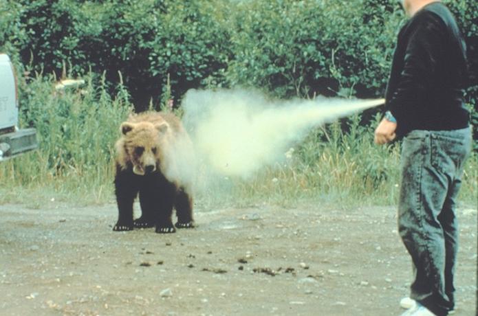 クマ避けスプレー