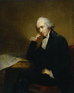 蒸気機関の発明で有名なジェームズ・ワット。コピー機も開発していた。