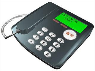 留守番電話を設定していると留守であることがわかってしまうというデメリットもあるのです。
