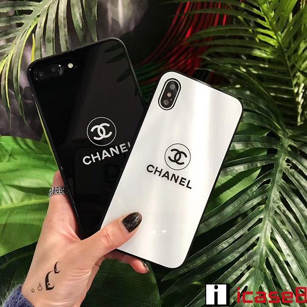 ブランド シャネル iPhone xr/xsケース Chanel アイフォン x鏡面ケース