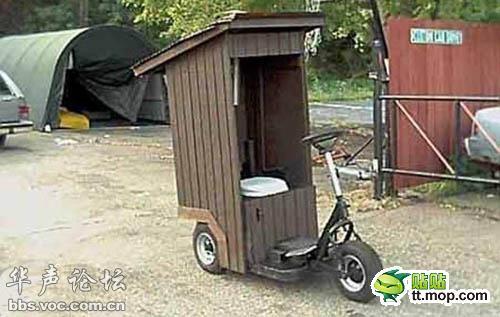 移動式トイレ?