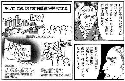 GHQの日本洗脳計画