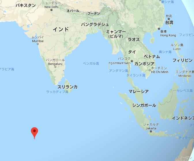 最大の島「ディエゴ・ガルシア島」
