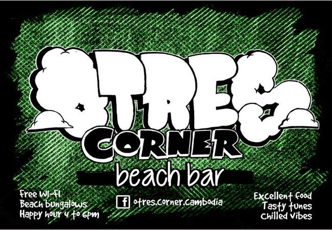 Otres Seaside Corner Bar